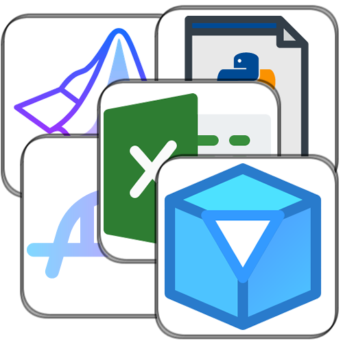 Various CAE software icons